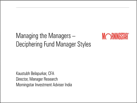 Deciphering Fund Manager Styles
